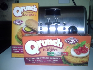 Try it Vegan Qrunch Burgers