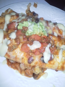 tryitvegan enchiladas with quacamole