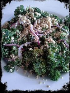 TiV Kale Quinoa Salad