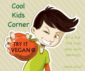 Try it Vegan Cool Kids Corner Meet Nico