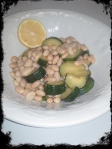 TiV Lemon Infused Zucchini and Beans