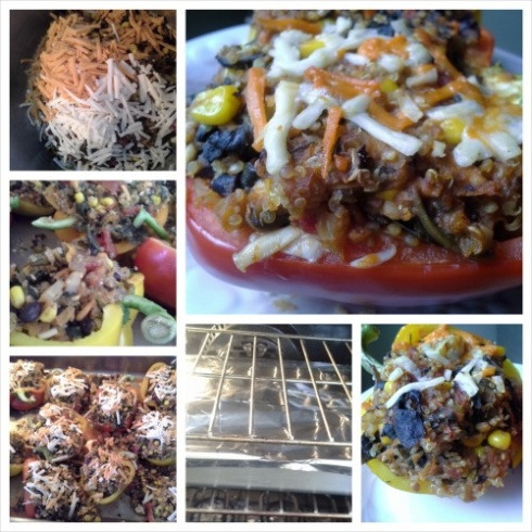 TiV Vegan Stuffed Peppers Step 4